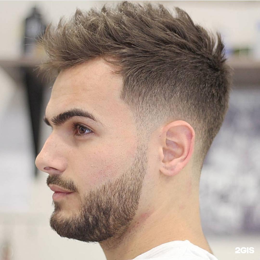 Фото модных мужских причёсок 2017