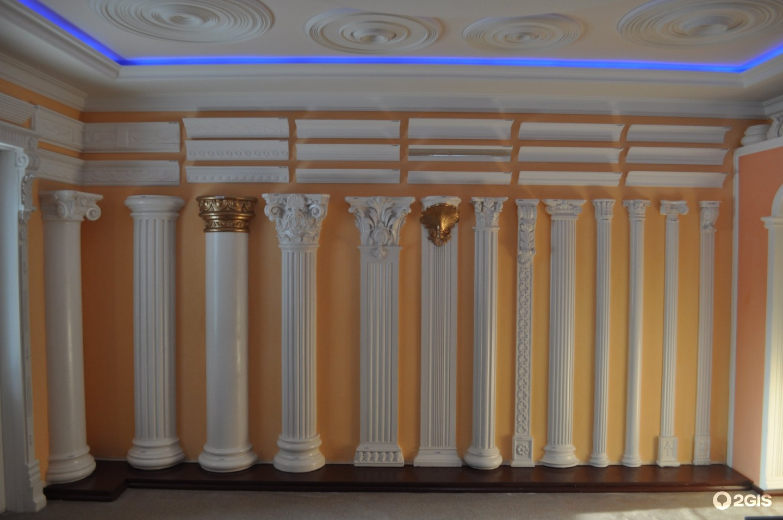 Изготовление колонн своими руками