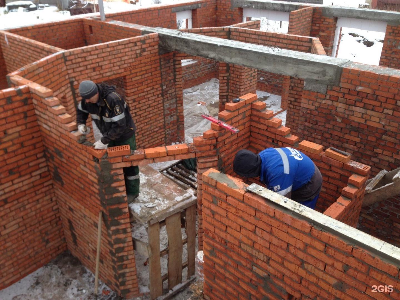 Строительство дома из пеноблоков с облицовкой кирпичом своими руками