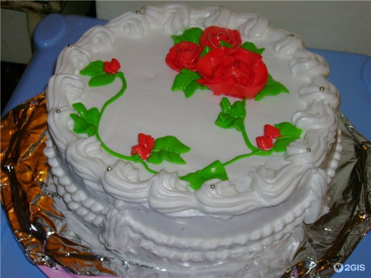 Украшение из крема фото тортов
