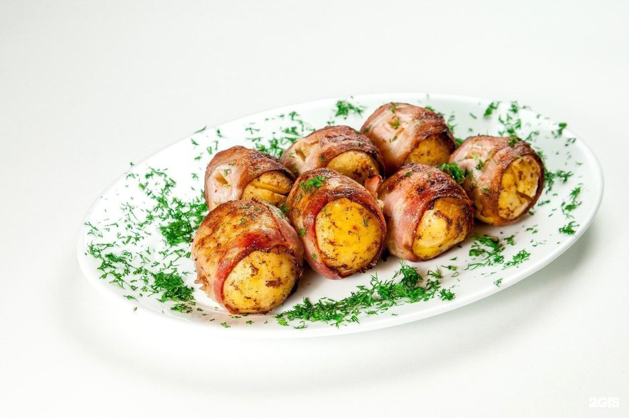 Как приготовить картошку с салом на шампурах рецепт пошагово
