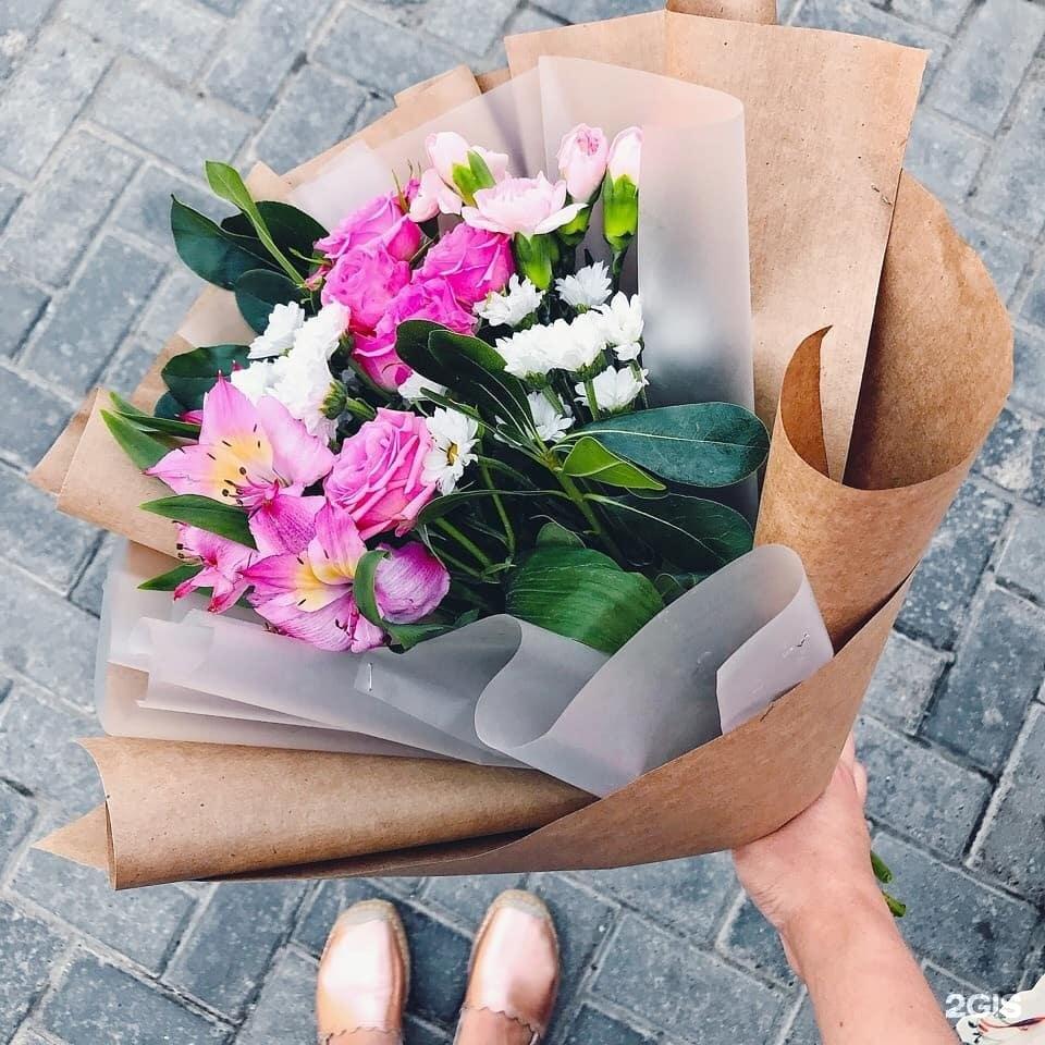 Букет, купить цветы в кургане дешево