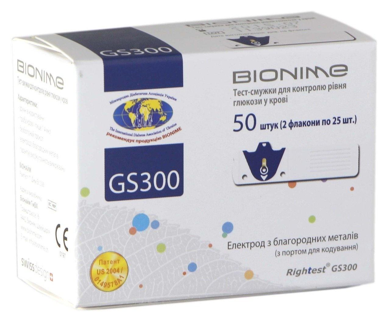 Глюкометр bionime gm 110 тест полоски