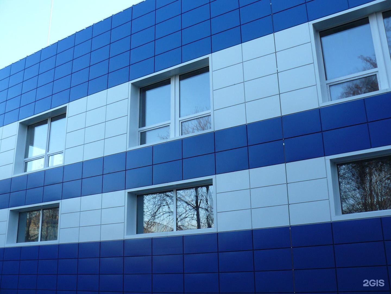 облицовка фасадов кассетными панелями