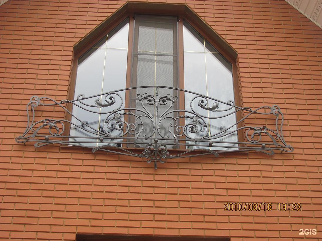 Кованые французские балконы фото и цены, регион заказа москв.
