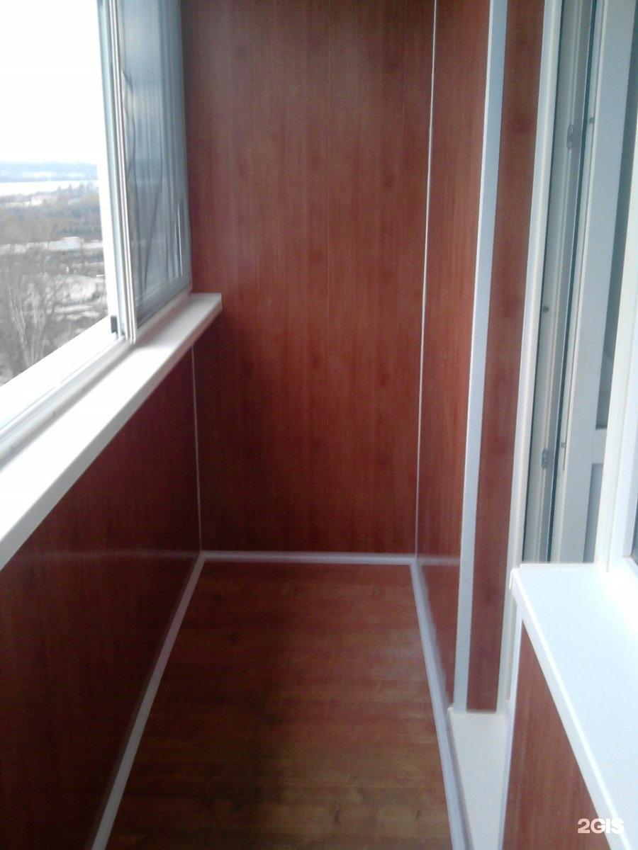 Обшивка балконов пластиком и совмещение с комнатой.