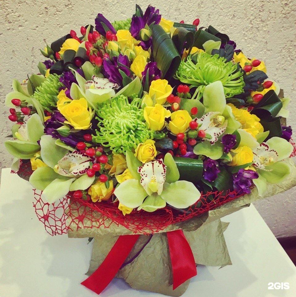 Букет из цветов в омске, vip букеты
