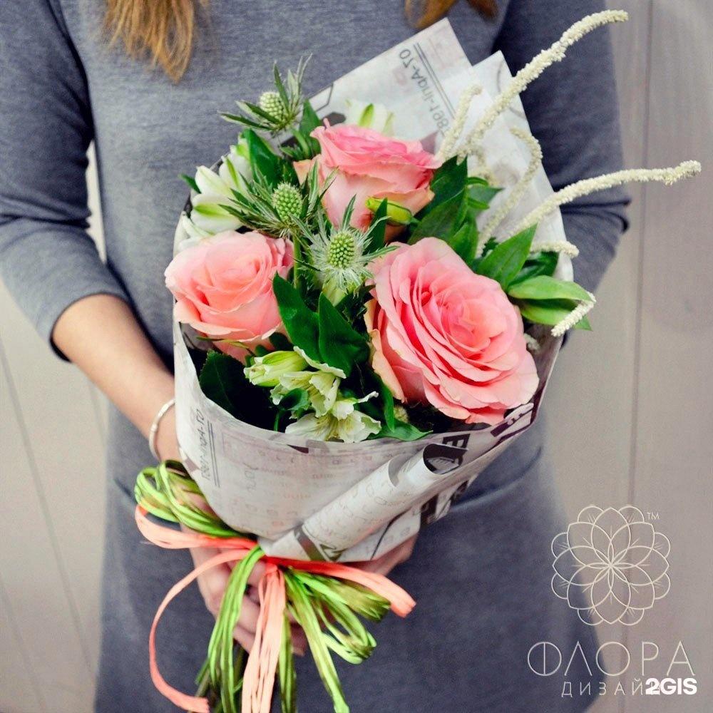 Магазин-салон цветов и подарков флора-дизайн, для невест белых
