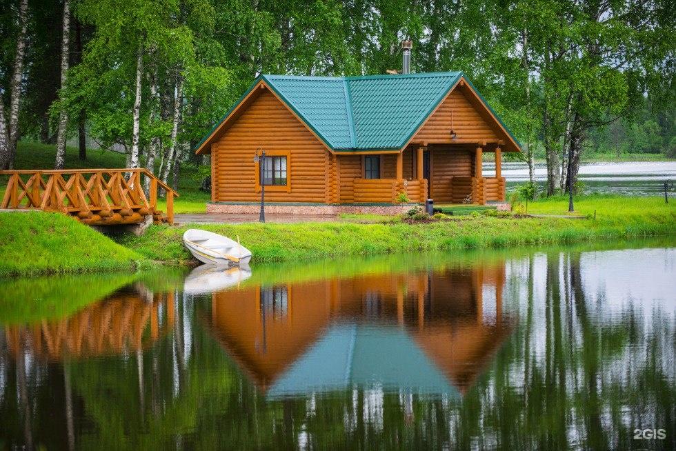 Загородные дома отдыха с рыбалкой